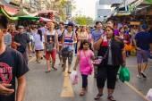 Jatujak market, The famous weekend market on January 25, 2015 in Bangkok — Stock fotografie