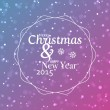 Marry Christmas And Happy New Year vector background — Stock Vector #56521667