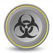 Biological Hazard Symbols — Stock Vector