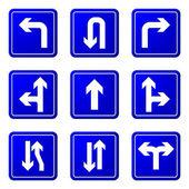 Flechas direccionales — Vector de stock