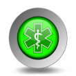 Medical Symbol. Emergency Icons. Green Set — Stock Vector #66403447