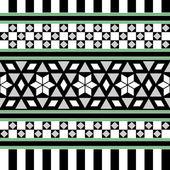 Tribal Seamless Pattern. Ethnic Vector Background — Stockvektor