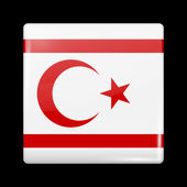 Flag of Turkey. Glossy Icons — Stock Vector