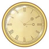 Analog Clock — Stock Vector