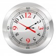 Analog Clock Isolated on a White Background — Stock Vector #78123240