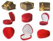 Gift box set — Foto Stock