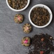 Different sorts of tea leaves — Stock Photo #65053351