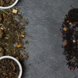 Different sorts of tea leaves — Stock Photo #65053531