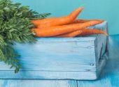 Fresh organic carrots — Stock Photo