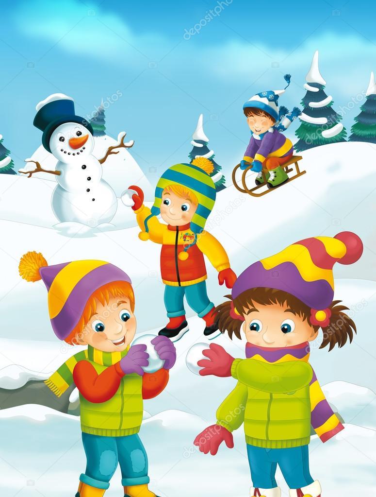 Зимние новогодние картинки