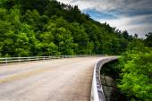Bridge on the Blue Ridge Parkway in North Carolina. — Stock Photo