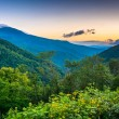 Morning view from the Blue Ridge Parkway in North Carolina. — Stock Photo #52505121