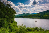 Lake in the rural Potomac Highlands of West Virginia.  — Stock Photo