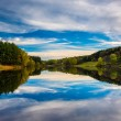 Afternoon reflections at Long Arm Reservoir, near Hanover, Penns — Stock Photo #52574679