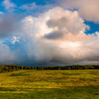 Beautiful evening clouds over Big Meadows in Shenandoah National — Stock Photo #52576739