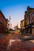 Opuszczonych sklepów w starym centrum miasta, w baltimore, maryland. — Zdjęcie stockowe