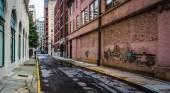 ダウンタウンの路地アトランタ、ジョージア. — ストック写真