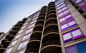 Apartment building in Philadelphia, Pennsylvania.  — Stock Photo