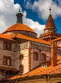 Architekturdetails flagler college in st. augustine, flori — Stockfoto