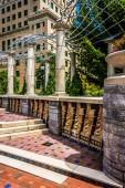 Architecture in Pack Square Park, Asheville, North Carolina.  — Stock Photo