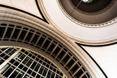 Architecture inside Rowes Wharf, in Boston, Massachusetts.  — Stock Photo