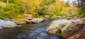 Boulders along the Gunpowder River in Gunpowder Falls State Park — Stock Photo