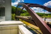 Bridges over Loch Raven Reservoir, in Baltimore, Maryland. — Stock Photo