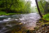 Cascades on the Gunpowder River near Prettyboy Reservoir in Balt — Stock Photo