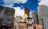 σύμπλεγμα των κτιρίων στο κέντρο της βοστώνης, μασαχουσέτη在市中心建筑群波士顿,马萨诸塞州. — 图库照片
