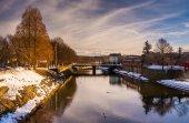 Codorus creek şehir york, pennsylvania. — Stok fotoğraf