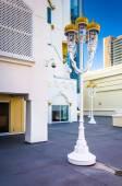 Courtyard at the Trump Taj Mahal in Atlantic City, New Jersey. — Stock Photo