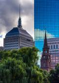 Diverse buildings in Boston, Massachusetts.  — Stock Photo