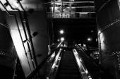 Eskalátor v pohonná jednotka, baltimore, maryland. — Stock fotografie
