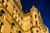 Evening light on the Old Post Office, in Washington, DC.  — Foto de Stock