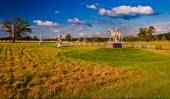 Evening light on the battlefields of Gettysburg, Pennsylvania   — Stock Photo