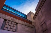 Exterior of the Holocaust Museum in Washington, DC. — Stock Photo