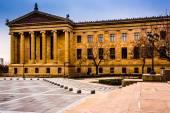 Exterior of the Museum of Art in Philadelphia, Pennsylvania. — Stock Photo