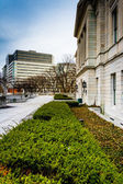 Gardens outside the Pennsylvania State Capitol in Harrisburg, Pe — Stock Photo