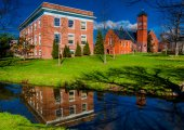 Gladfelter Hall, on the campus of Gettysburg College, PA.  — Stock Photo
