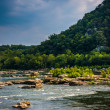 Rapids on the Potomac River in Harpers Ferry, West Virginia. — Stock Photo #52599129