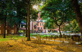 Historic cemetary in Boston, Massachusetts.  — Stock Photo