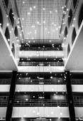 Architektura wnętrz w marriott, w Bostonie, massachusetts. — Zdjęcie stockowe