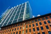 глядя на современное здание в бостоне, штат массачусетс. — Стоковое фото