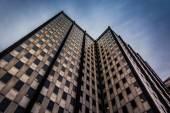 глядя на современном здании в центре города филадельфия, pennsy — Стоковое фото
