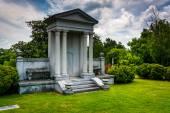 Mausoleum op oakland begraafplaats in atlanta, georgia. — Stockfoto