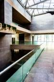 Modern architecture in the East Building of the National Gallery — Stock Photo