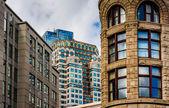 Old architecture in Boston, Massachusetts.  — Stock Photo