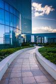 Outdoor walkway at the Revel Hotel Casino in Atlantic City, New  — Stock Photo