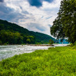 The Shenandoah River, in Harpers Ferry, West Virginia. — Stock Photo #52608981