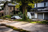 Run-down residences in Bairs, Pennsylvania,  — Stock Photo